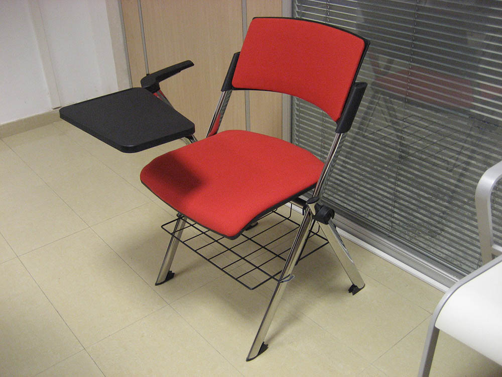 Folding Chair With Writing Tablet Specialist Furniture
