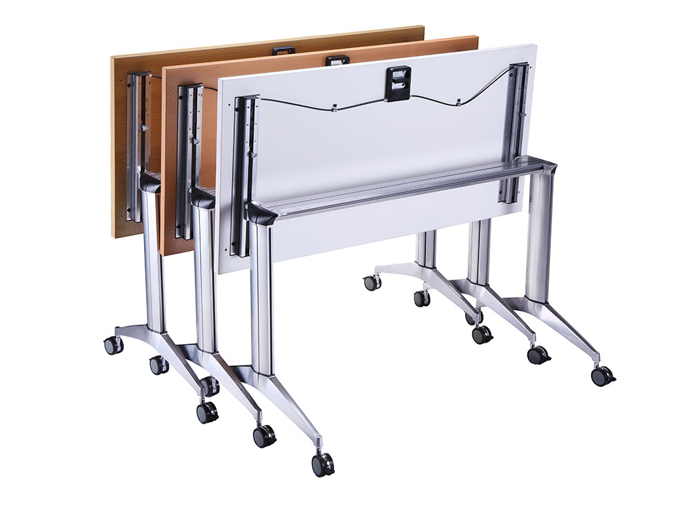 Flip Top Mobille table with linking device