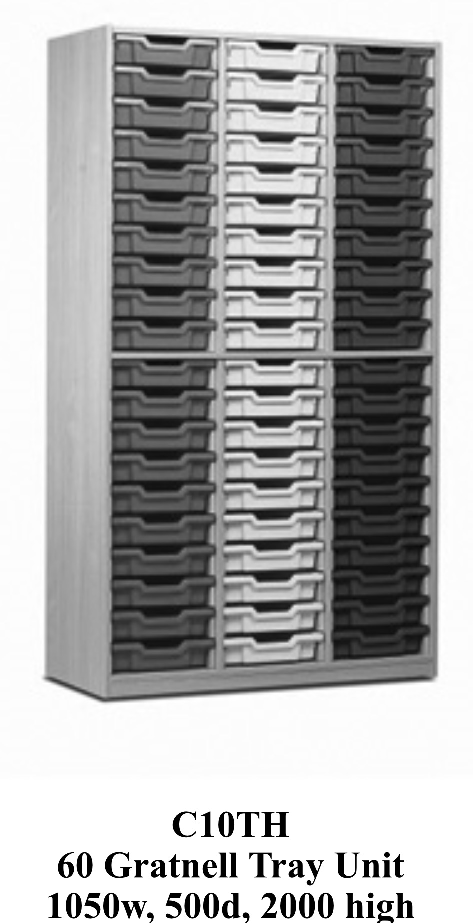 60 tray unit 1030 wide