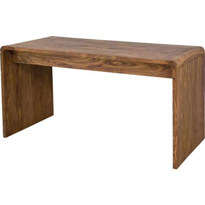 Designer Desk Solid Wood Panel Top And Legs