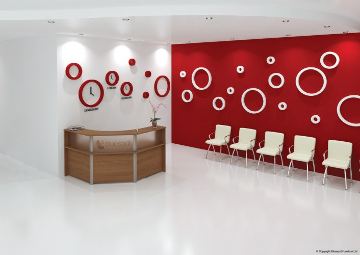 Angled Reception Desk Specialist Furniture Contracts