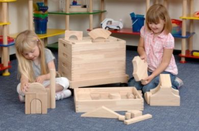 Building Block Cart 192pc set