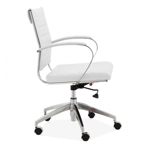 Classic Eames Style Office Executive Chair White Specialist Furniture Con