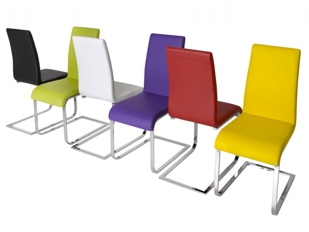 Contemporary Colourful Cantilever Chair Specialist Furniture Contracts