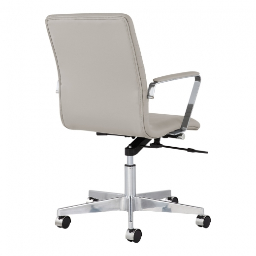 eames inspired ribbed office chair light grey specialist furniture contracts. Black Bedroom Furniture Sets. Home Design Ideas