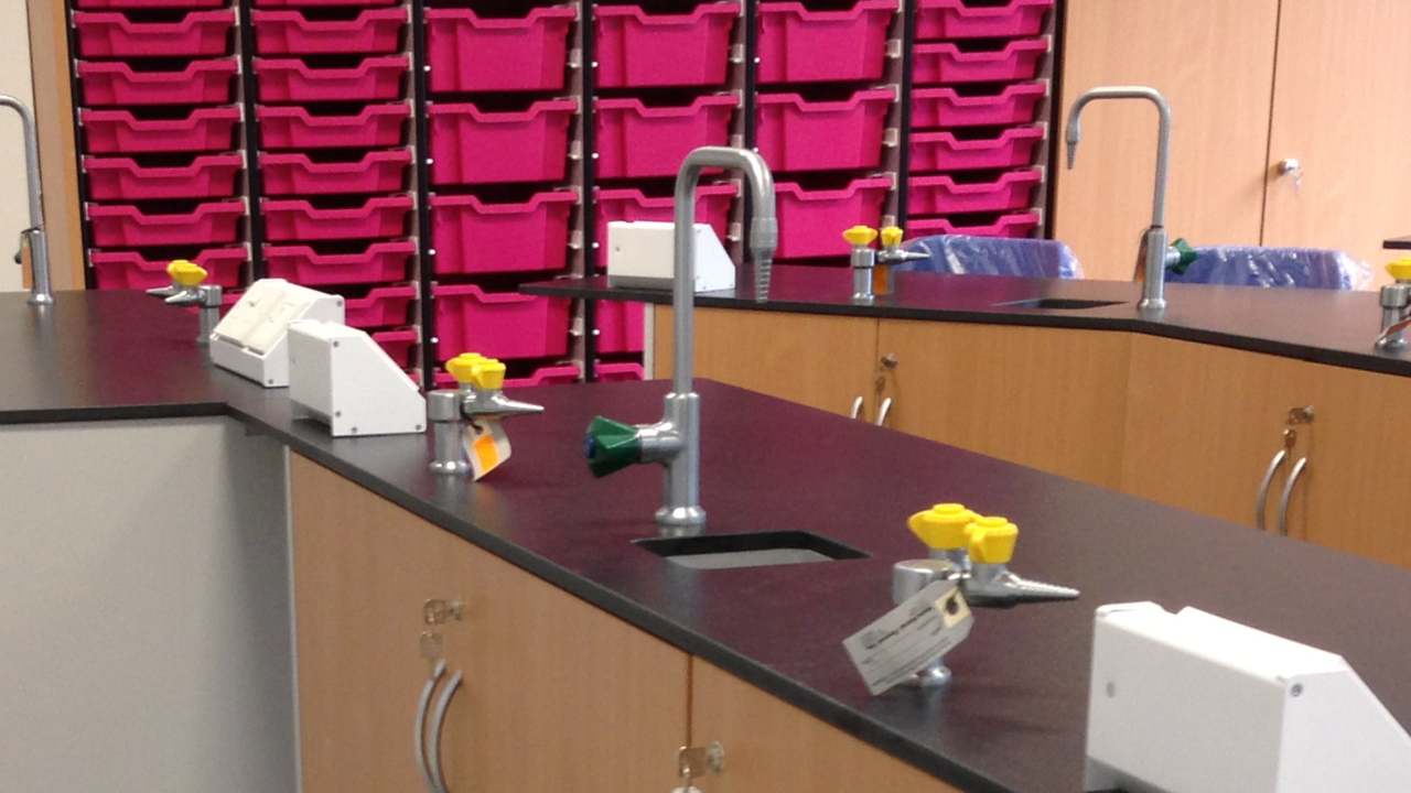 Laboratory Sinks , Taps and Sockets