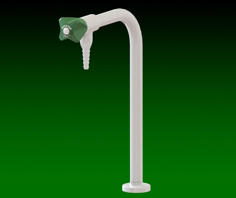 Laboratory Bib Tap Hot Cold Water Tap Specialist