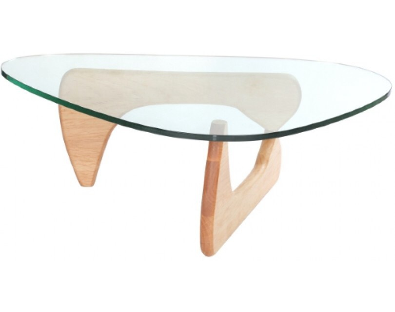 Noguchi Light Oak Coffee Table Specialist Furniture Contracts