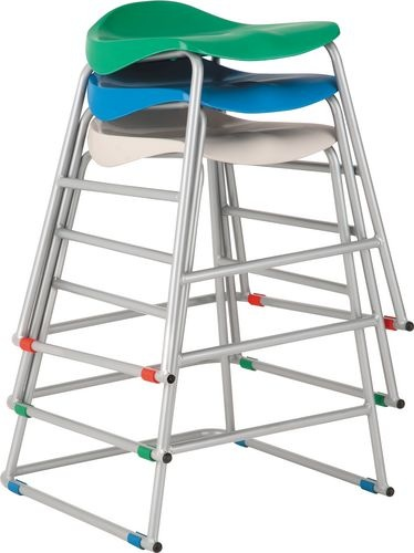 Titan Ultimate Classroom Stool in Blue