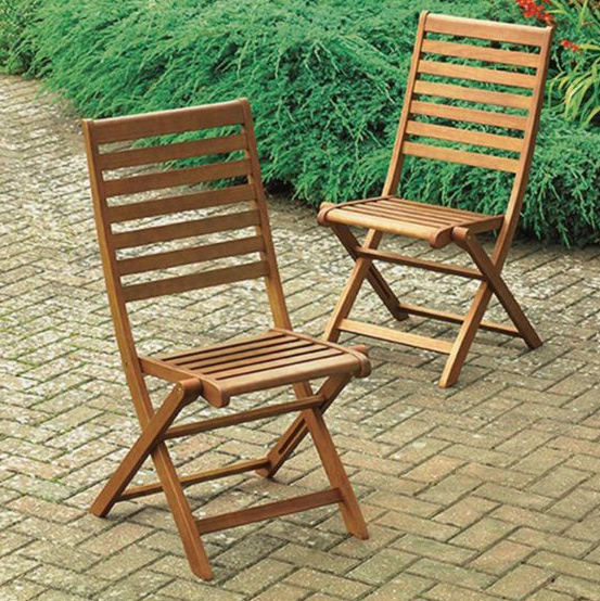 eton wooden folding garden dining chair 2 pack specialist furniture contracts. Black Bedroom Furniture Sets. Home Design Ideas