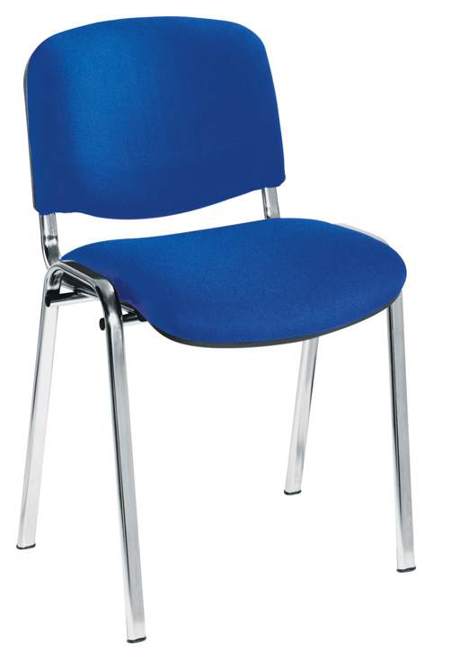 Royal Blue Chair Decor Pink Living Room: Club Stacking Chrome Conference Meeting And Training Chair
